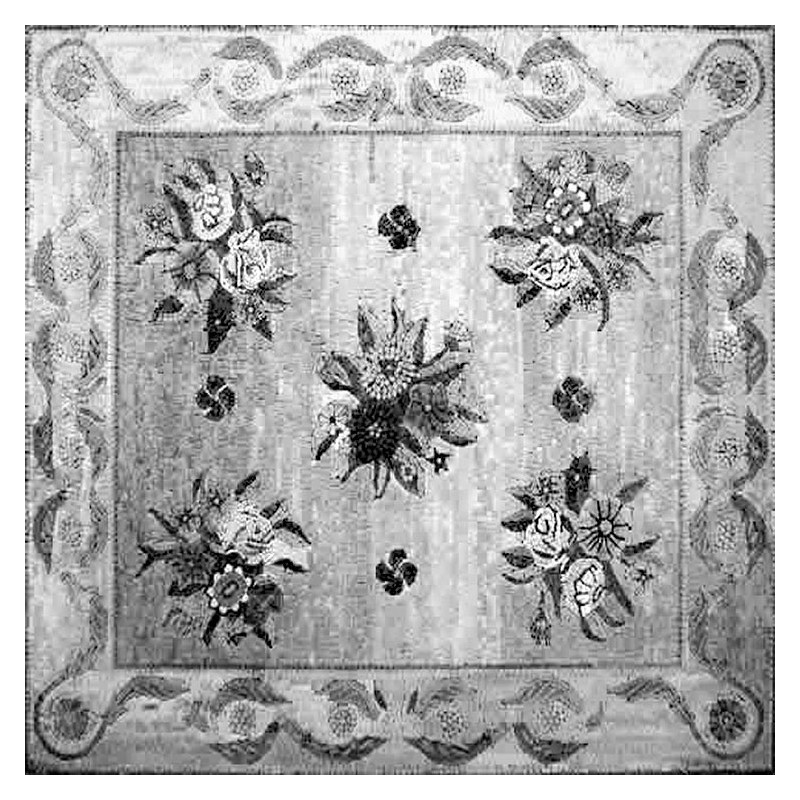 Mosaic Medallion Rug Tiles
