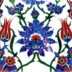Shop Online the Best Quality Iznik Tiles with Free Shipping to Worldwide